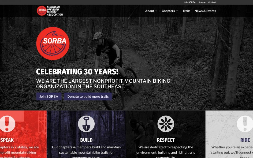 SORBA launches new website to celebrate 30th anniversary