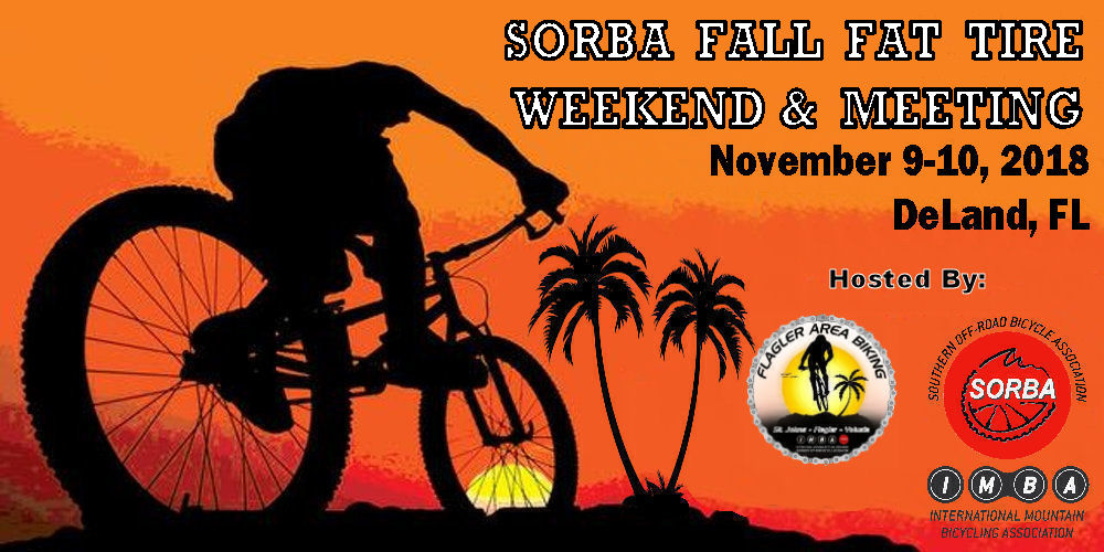 2018 SORBA Fall Fat Tire Weekend & Meeting @ Thomas C. Kelly Administration Center