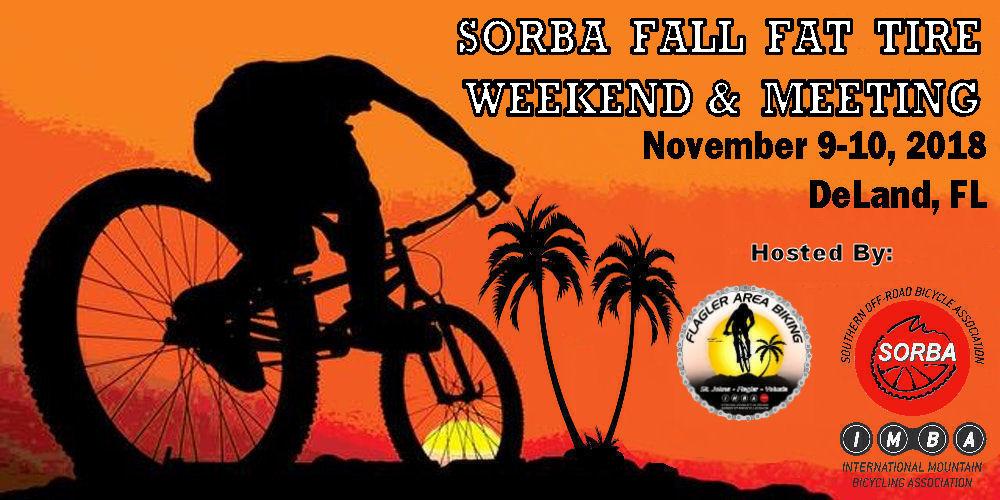 2018 SORBA Fall Fat Tire Weekend & Meeting