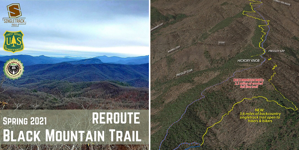 Black Mountain Reroute