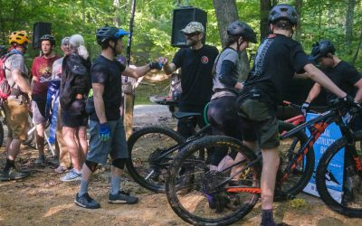 BUMP Opens New Trail at Oak Mountain